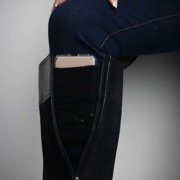 Boot cuff with pockets, Leg Warmers with pockets
