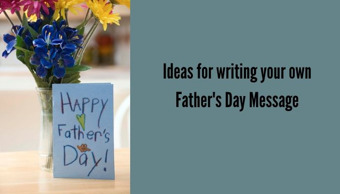 Father's Day Messages for a Hand-Written Card